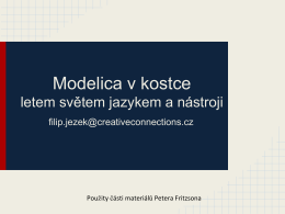 Modelica v kostce - Creative connections