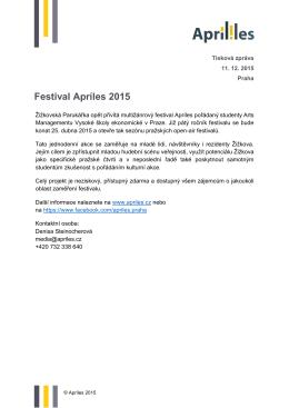 Festival Apríles 2015