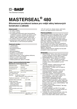MASTERSEAL 480