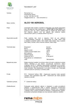 ALCO 150 AEROSOL