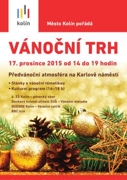 17. prosince 2015 od 14 do 19 hodin