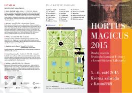 HORTUS MAGICUS 2015
