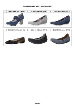 S.Oliver dámská obuv