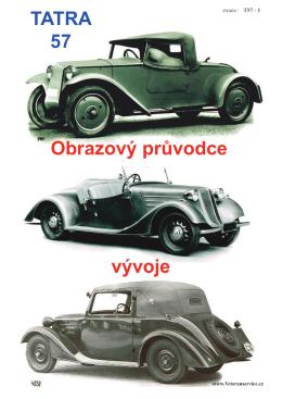 Tatra 57 – obrazový průvodce vývoje