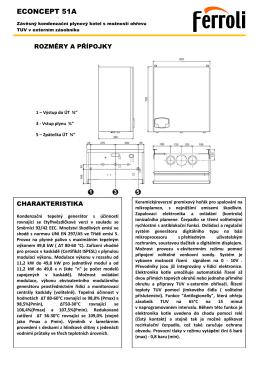 Projekční podklady ECONCEPT 51A