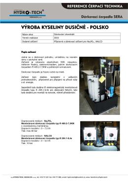 46 Výroba HNO3 Kozle - Hydro-tech
