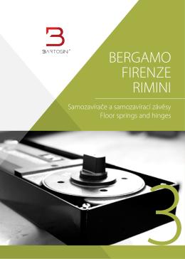 BERGAMO _RIMINI_FIRENZE