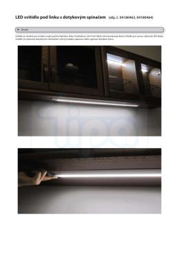 LED svítidlo pod linku s dotykovým spínačem (obj. č