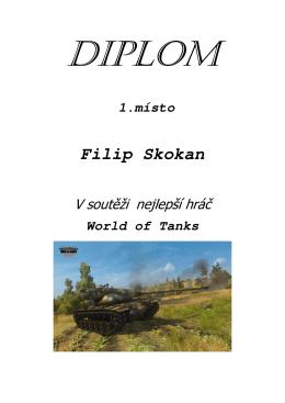 1.místo Filip Skokan