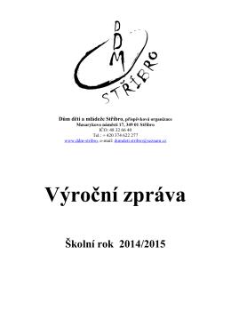 Výroční zpráva DDM 14-15