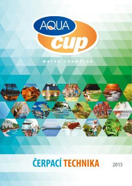 Katalog AQUACUP 2015