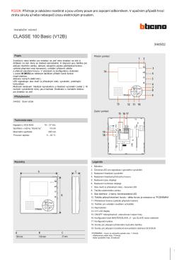 CLASSE 100 Basic (V12B)