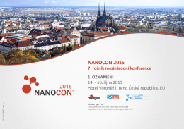 2015 NANOCON 2015