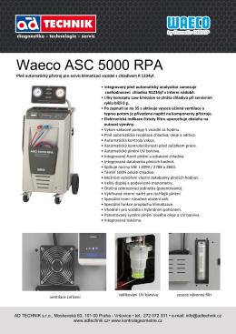 Waeco ASC 5000 RPA