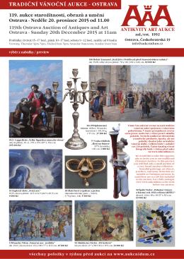 prospekT - Antikvity Art Aukce