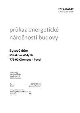 PENB Misakova 16, Olomouc