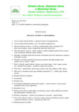 Střední škola, Základní škola a Mateřská škola, Hradec Králové