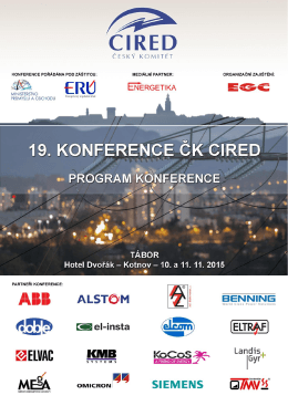 Program ČK CIRED 2015
