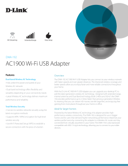 AC1900 Wi-Fi USB Adapter - D-Link