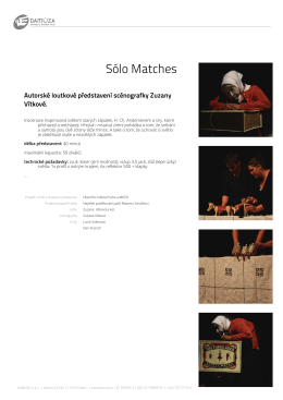 Sólo Matches - Studio Damúza