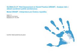 Národní výkladový dokument GLOBALG.A.P. GRASP pro Českou