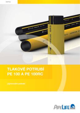 Tlakové poTrubí pE 100 a pE 100rC
