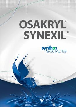 Synexil®, Osakryl