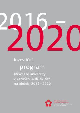 DZ JU 2016_2020_tabulky příloha invest_program