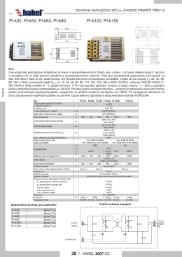 PI-k120, PI-k150 PI-k32, PI-k50, PI-k63, PI-k80