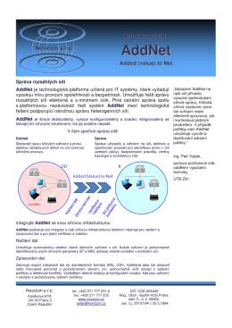 AddNet - Caleum