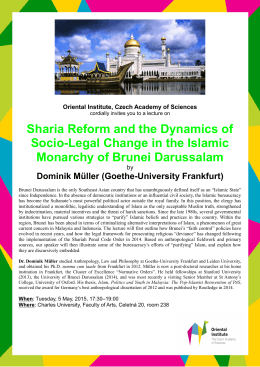 Sharia Reform and the Dynamics of Socio
