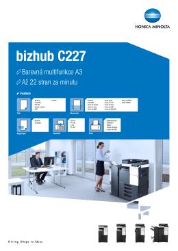 bizhub C227 - prospekt