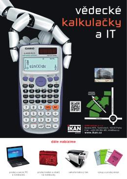 vědecké kalkulačky a IT