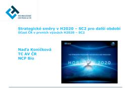 Účast ČR v 7.RP a nové výzvy 2011– zemědělství, potraviny