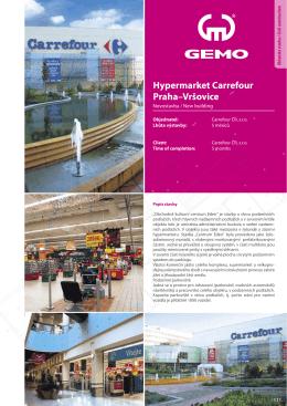Hypermarket Carrefour praha–Vršovice