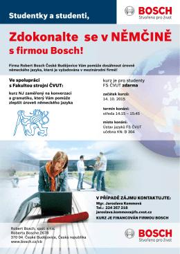 Jazykové kurzy německého jazyka pro studenty ČVUT zdarma!