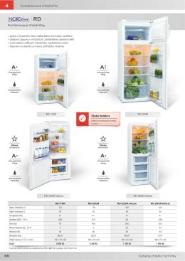 66 .RPELQRYDQ« FKODGQLÏN\ Kombinované chladničky