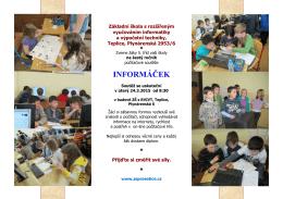 Základní škola s rozšířeným vyučováním