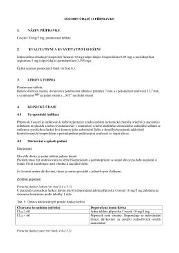 Souhrn údajů o přípravku 10 mg/5 mg