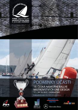 Podmínky účasti 19. ČNR 2015