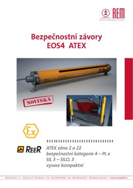 Přehled bezpečnostních světelných závor EOS4 - REM