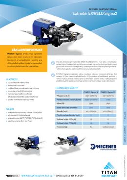 Extruzní svařovací stroj EXWELD Sigma2 - TITAN