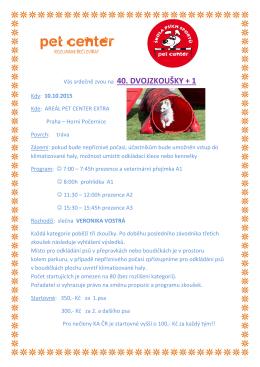 propozice 40. dvojzkoušky + 1 pdf