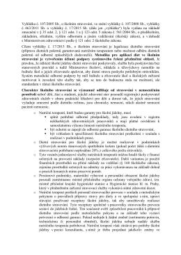 Vyhláška č. 107/2005 Sb., o školním stravování, ve znění vyhlášky č