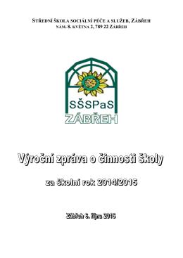 Výroční zpráva 2014-15