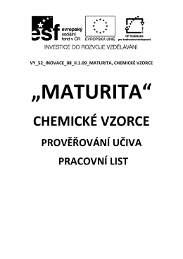 II.1.9 - Maturita