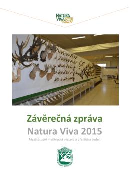 Vyhodnocení - Natura Viva 2015