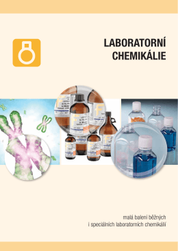 LABORATORNÍ CHEMIKÁLIE - Fisher Scientific sro
