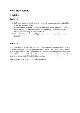 Úkoly pro 7. ročník 2. pololetí Úkol č. 1 Úkol č. 2