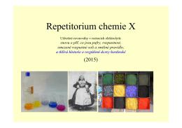 Repetitorium chemie X